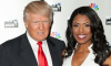 President Donald Trump and Omarosa Manigault