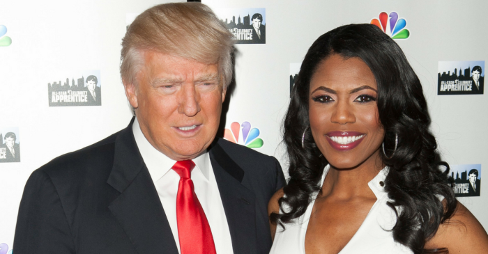 """Omarosa spilled some tea when a""""Celebrity Big Brother"""" contestant asked if she slept with President Trump"""