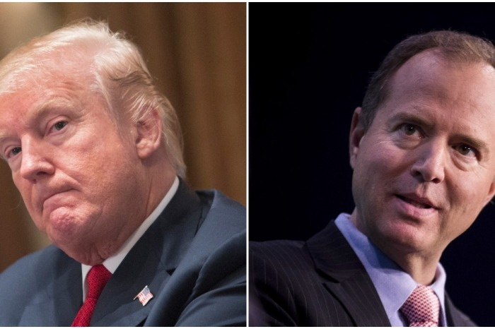 Democrat Adam Schiff wanted nude Trump photos to exist so badly he fell for a prank and now we can hear it