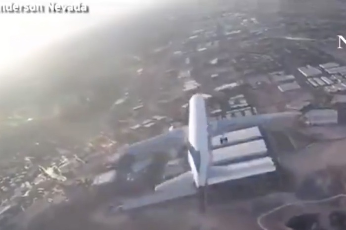 Video of drone getting dangerously close to airplane emerges online