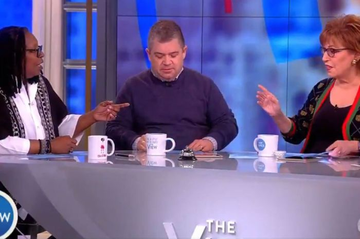 """The View"" addresses Trump's claim that he would have run into a school shooting, and they're not buying it"