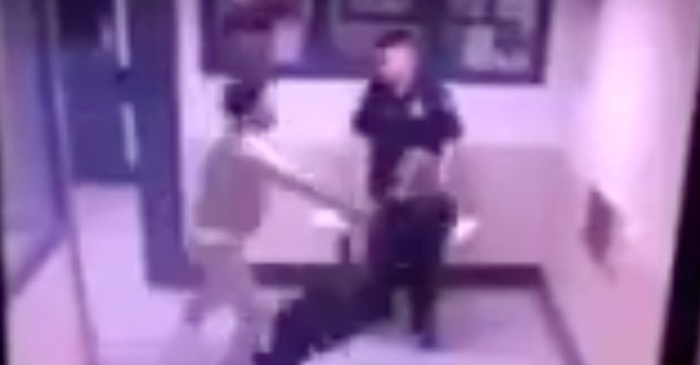 An inmate knocked out a prison guard in one punch — another guard didn't even react