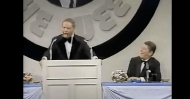 Ronald Reagan Couldn't Stop Laughing When Don Rickles Roasted Him