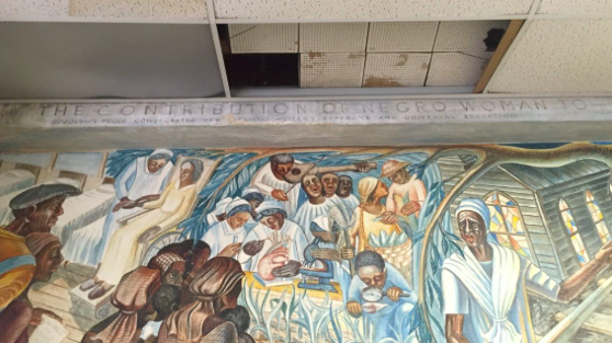 Historic mural damaged by Harvey inspires new federal grant program