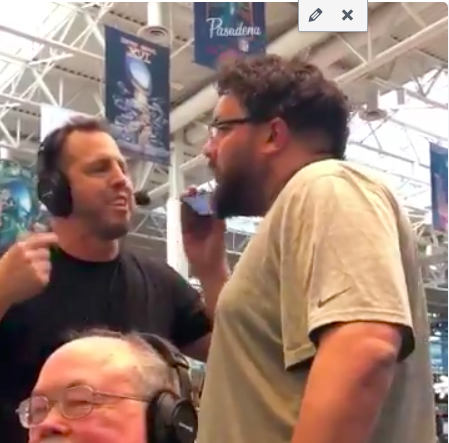 Houston sports radio hosts caught sparring on air at Super Bowl LII Radio Row