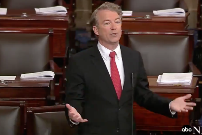 The last Tea Partier? Rand Paul's one-man crusade to stop the Senate's reckless spending bill