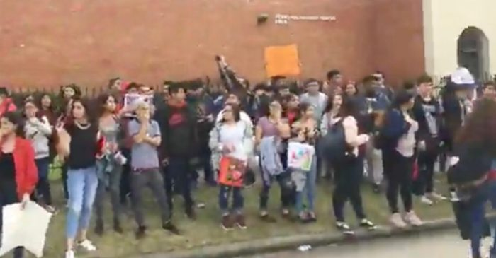 Houston high school students protest classmate's ICE detention, describing him as a victim