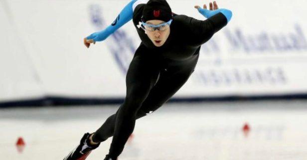 U.S. Olympic speedskater brings Houston Strong spirit to PyeongChang