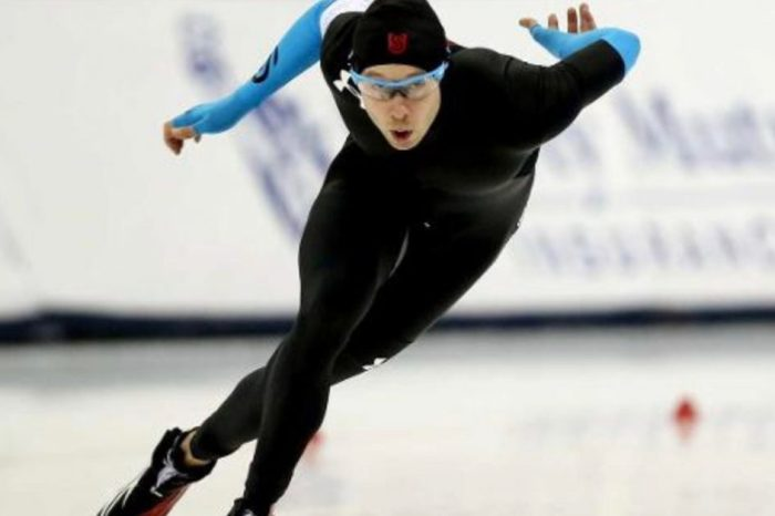 U.S. Olympic speedskater brings Houston Strong spirit to PyeongChang