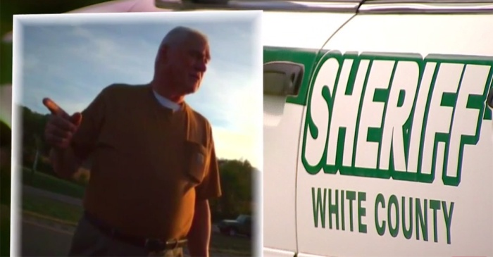 Shocking video shows a sheriff giving an order to shoot to kill and laughing about it