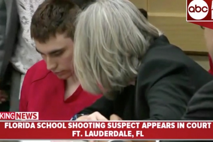 Confessed Florida school shooter Nikolas Cruz just appeared in court and didn't look up once
