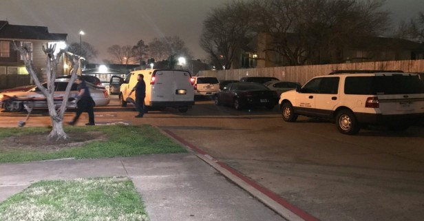 A man was found shot dead in a southwest Houston apartment overnight this weekend