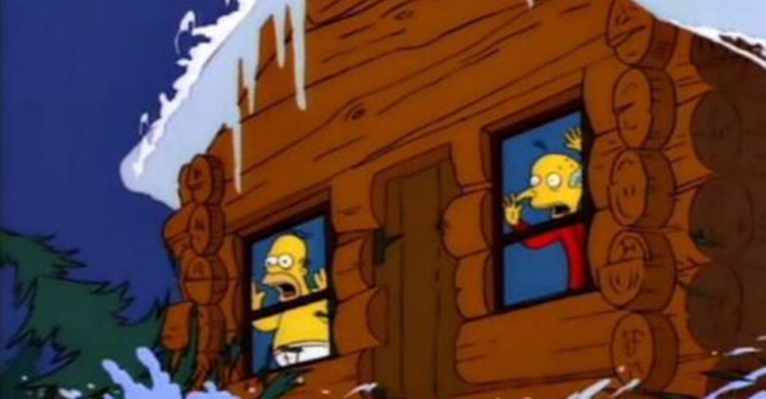 """The Simpsons"" may have predicted the rogue squirrel moment at the Olympics"