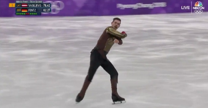 "An Olympics figure skater just went full ""Game of Thrones"" for his performance"