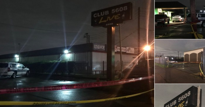 A strip club security guard reportedly shut things down when he stopped a shooter early Sunday
