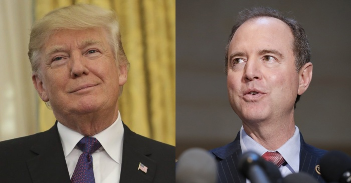 "Top Democrat pushed back after President Trump said that the memo ""totally vindicates"" him"