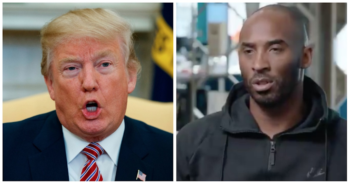 Out of nowhere, Kobe Bryant says he'd join Kaepernick's protest if he were still in the NBA