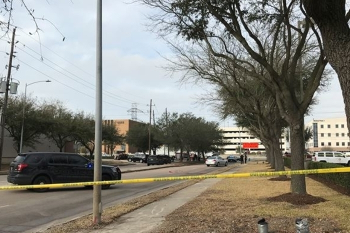 Police say robbery suspect killed after officer shooting near HCC