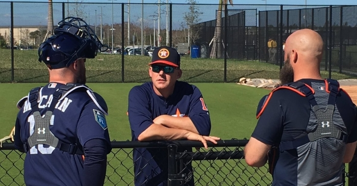 Check out your Houston Astros gearing up for the 2018 season with these Spring Training updates
