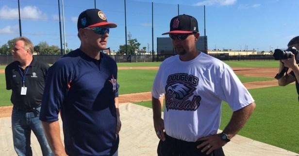 Houston Astros host heart-broken baseball team after historic high school shooting