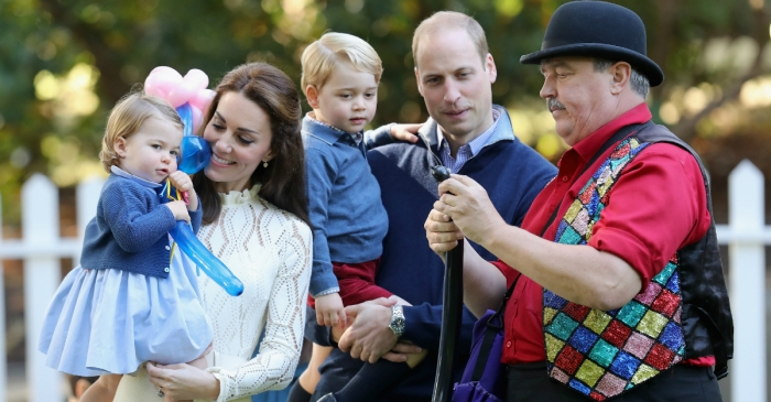 It looks like William and Kate's third child will be inheriting a bunch of hand-me-downs from its big brother and sister