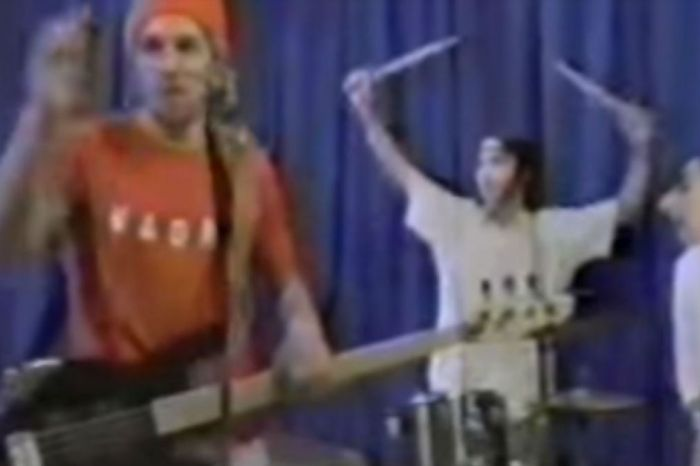 Here's that video of a young Rep. Beto O'Rourke playing punk on a public-access show