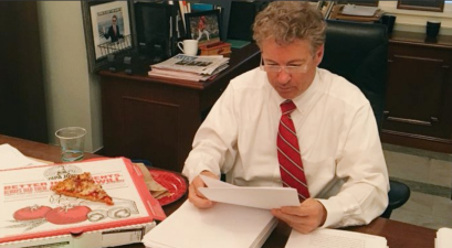 The Senate passed a $1.3 trillion, 2,232-page Omnibus while you slept. Did anyone bother to read it besides Rand Paul?