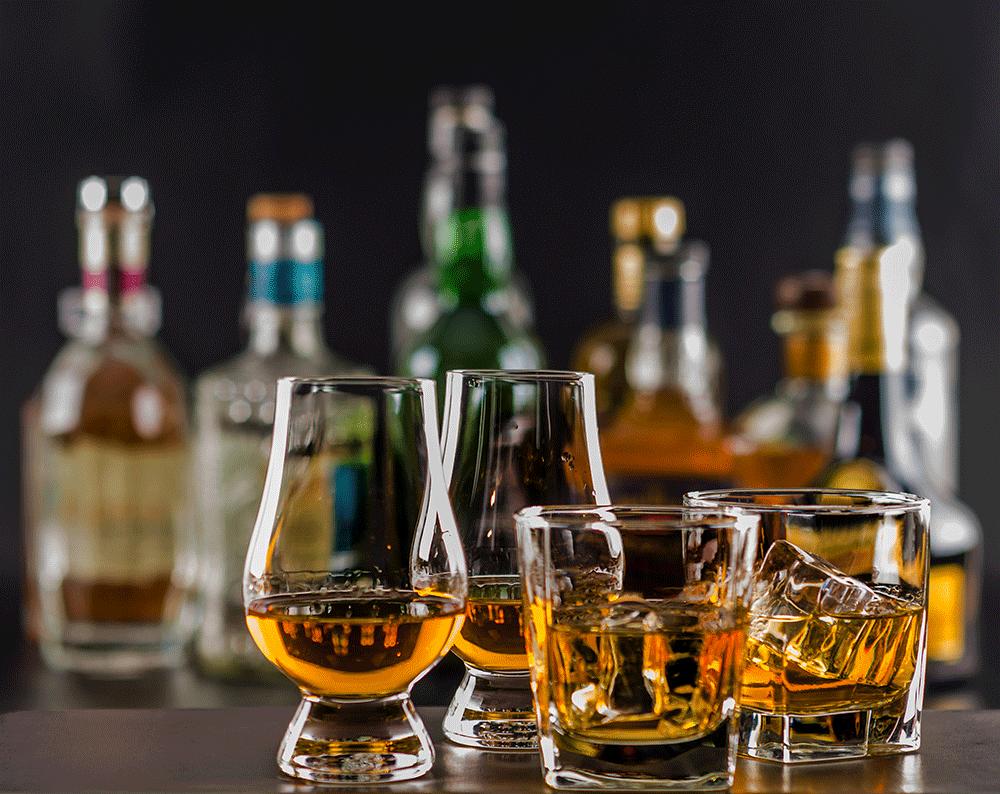 Differences Bourbon Scotch Rye Whiskey Brandy