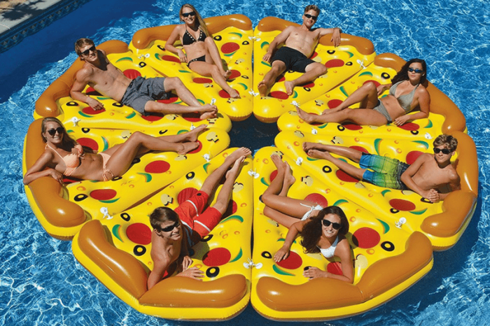 15 Food Pool Floats Best for Lounging on the Water All Day Long