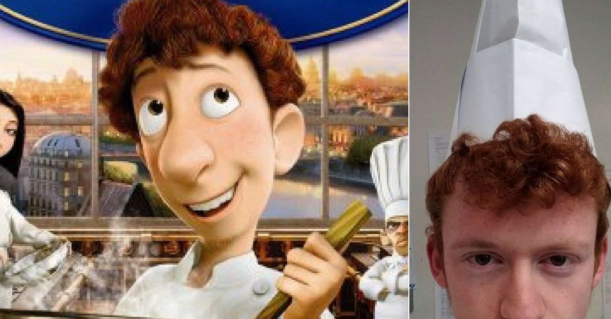This Chef Looks Like A Clone Of Linguini From Ratatouille Rare