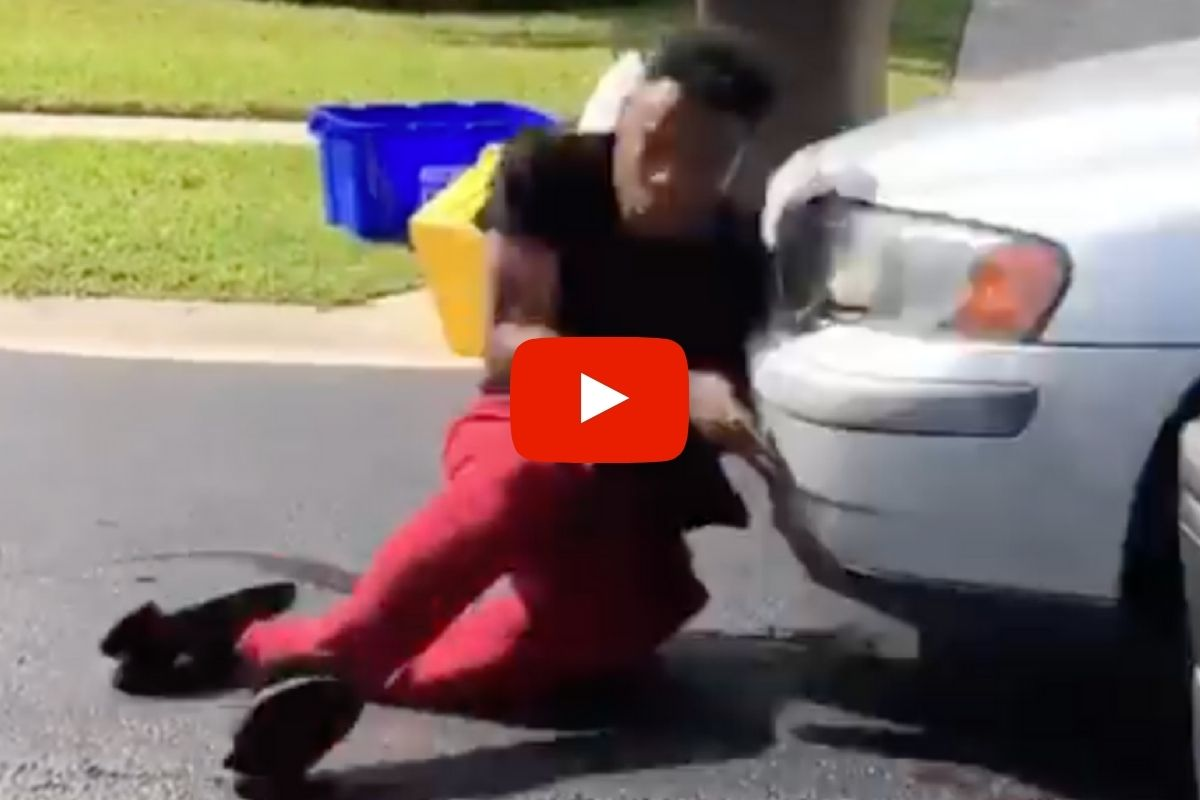 "Video Shows Guy Hit by Car Attempting the ""In My Feelings"" Challenge"