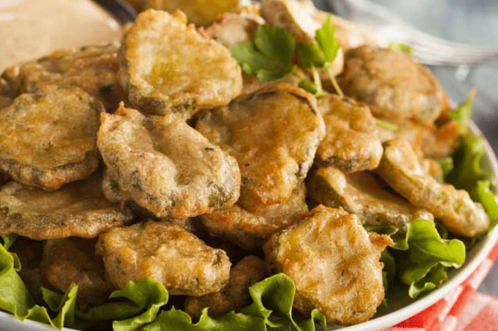 The Most Popular Fried Pickles Recipe on Pinterest with 98,000 Saves
