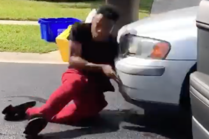 """Video Shows Guy Hit by Car Attempting the """"In My Feelings"""" Challenge"""