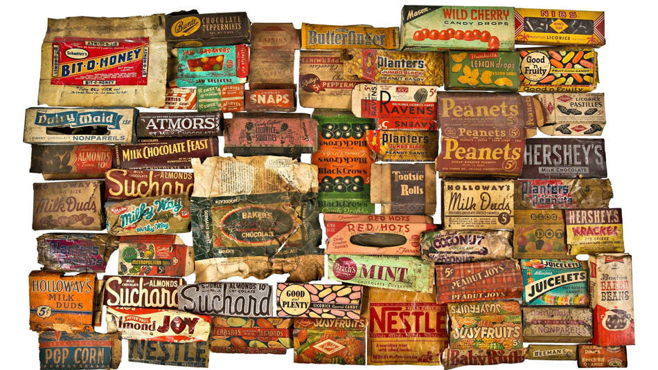 Historic Candy Wrappers