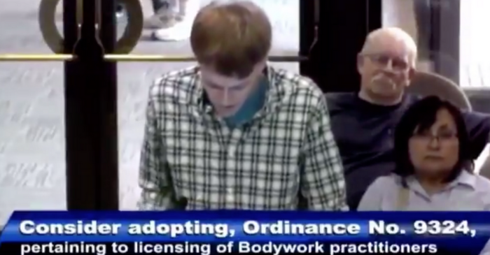 Kansas Man Petitions City Council to Legalize 'Happy Endings' in Ridiculous Video