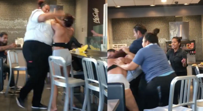McDonald's Worker Body-Slams