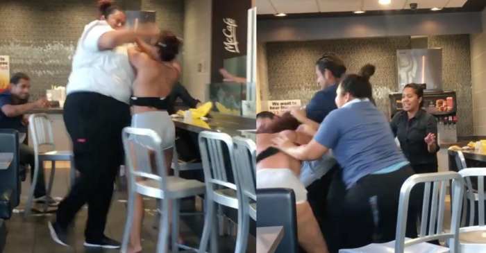McDonald's Worker Body-Slams Customer in Crazy Fight Video