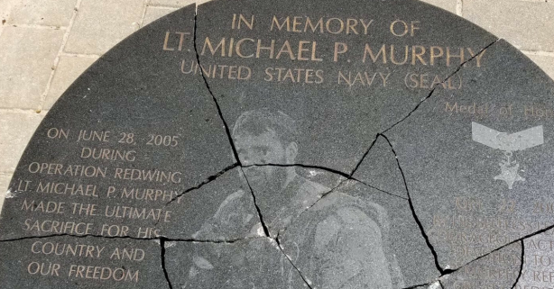 Vandals Destroyed a Navy SEAL Memorial, SEAL Offers Reward if Caught