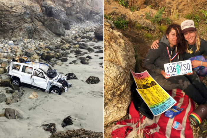 Woman Miraculously Rescued Days After Plunging off California Cliff