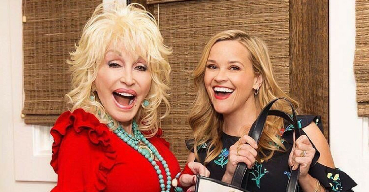 Reese Witherspoon Takes Us Inside Dolly Parton's Closet