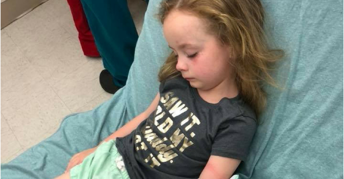 5-Year-Old-Girl Temporarily Paralyzed From Tick Bite