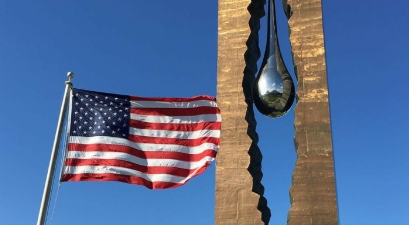 This Hidden Teardrop Memorial from Russia Honors Victims of 9/11