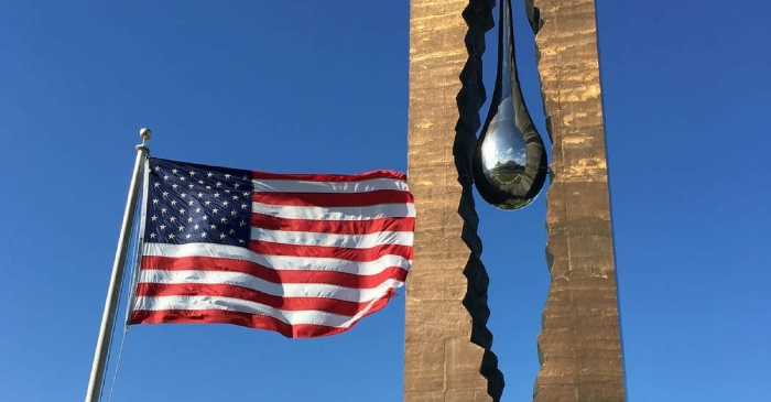 Russian 'Tear Drop' Memorial in New Jersey Honors 9/11 Victims