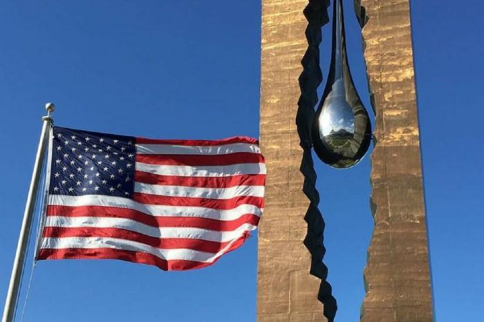 Russian 'Tear Drop' Memorial in New Jersey Honors 9/11 Victims