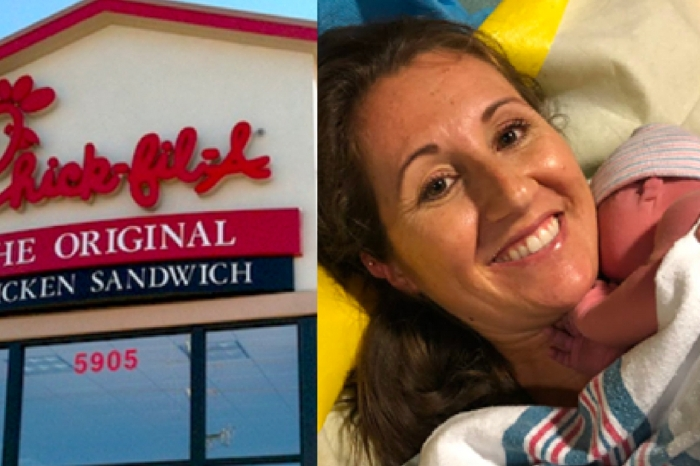 San Antonio Couple Unexpectedly Deliver Baby in Chick-Fil-A Bathroom