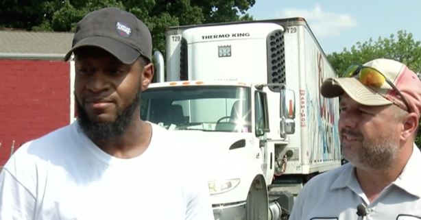 Beer Truck Drivers Convince Man Not to Kill Self by Offering Him Beer
