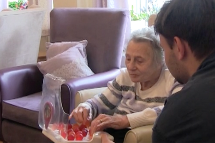 Grandson Invents Candy To Keep His Grandma with Dementia Hydrated