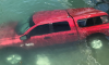 Long Beach California Car Underwater