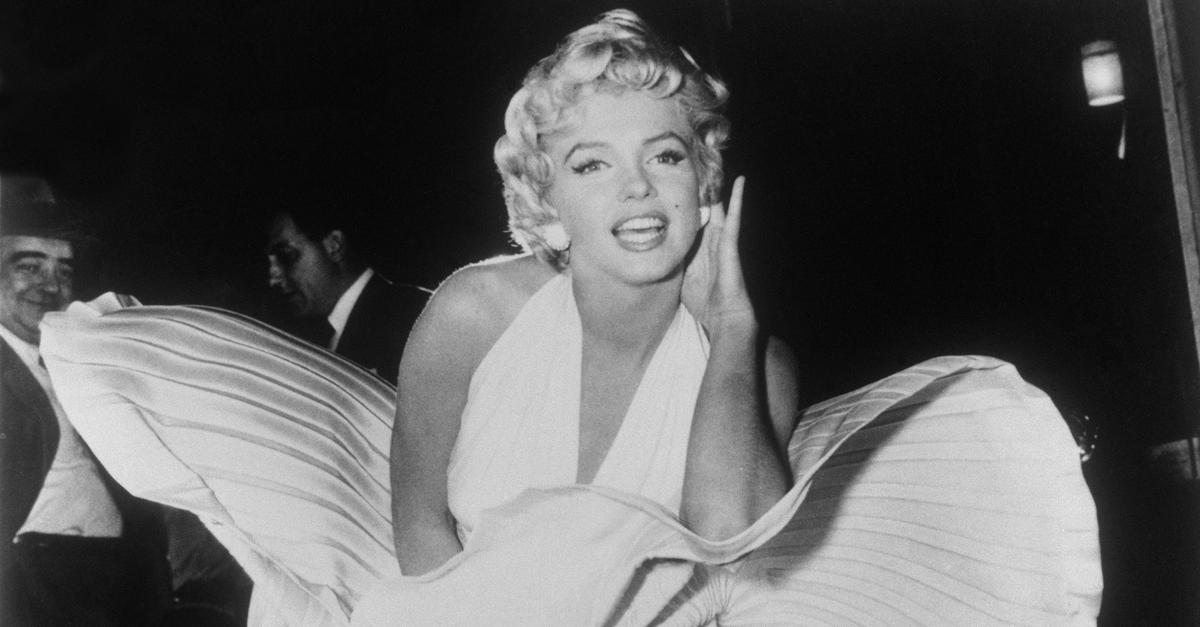 Marilyn Monroe Iconic White Dress