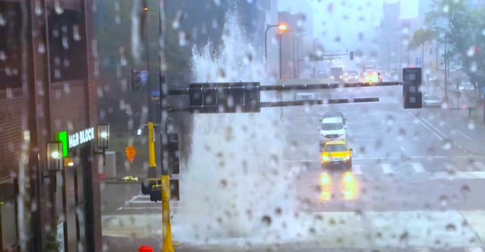 Video Captures Sewers Exploding Like Geysers During Minneapolis Rains